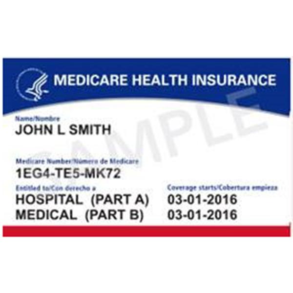 Tarjeta de Medicare Original